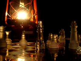 Chess By Lantern by UbiquitousGeek