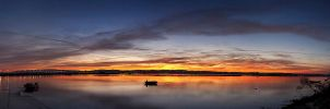 Sunrise Pano by Peug
