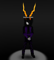 IMVU Avatar: Raven Dressed as GHB by Dysfunctional-H0rr0r