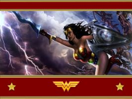 MK VS DC Wonder Woman WP by Superman8193
