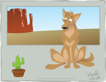 The Cactus and The Coyote by Mochiroo