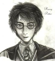 Harry Potter by darksidephantom