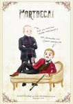 2014-11-13 Mortdecai and his man servant by amoykid