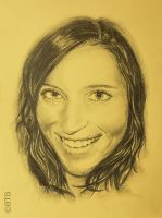 Pencil Portrait Final by BTBArtist