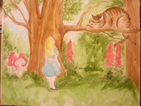 Alice In Wonderland by Evymonster9406