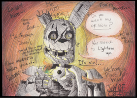 You Need to Lighten up -Scary Contest Entry- by KhyberFanGirl101