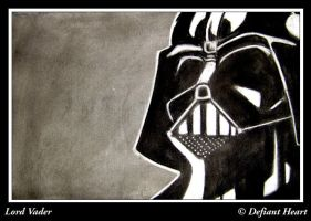 Lord vader by DefiantHeart