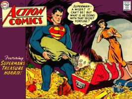 Action Comics 219 by Superman8193