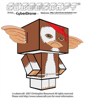 Cubeecraft - Gizmo 'Rambo' by CyberDrone