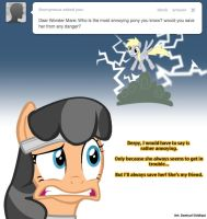 Ask Wonder Mare #1 by PompaPony