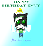 Happy Birthday Envytheskunk by Soraply11