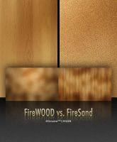 FireWood vs. FireSand by neodesktop
