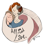 All you need is love. by ChesireHats