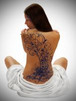 House of Night-Zoey's Tattoos by OlyaMolya