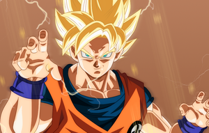Goku Ssj by Monstkem