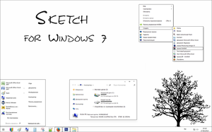 Sketch for Windows 7 by Takara777