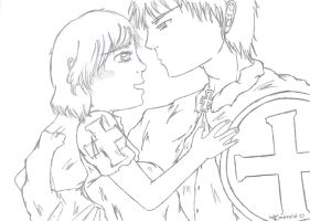 aph: Almost so awesome like me (sketch)  ^^ by LoveEmerald