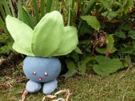 Plush Oddish by channellehazel