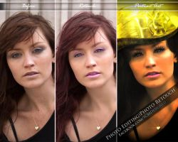 After And Before Created Photo Retouch/Portrait by ICMDesigned