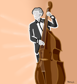 Double Bass by Max-is-awesome