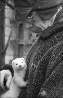 Man with an Ermine by handfat