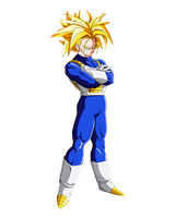 Trunks SSJ by dbzandsm