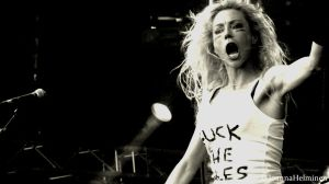 Arch Enemy / Angela Gossow by JoannaHelminen