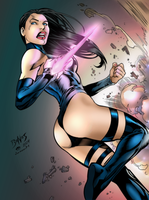 Psylocke my colors by JasonM999