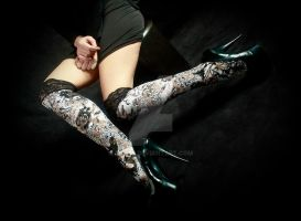 Selfridges stockings by Aszap