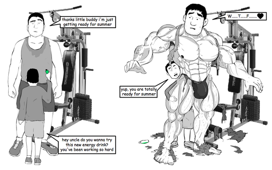 UNCLE MUSCLE GROWTH by Salvador503