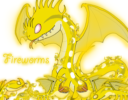 Fireworms by Rotommowtom