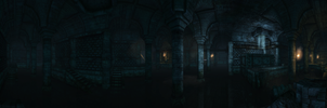 The Dark Sewers by IDR-DoMiNo