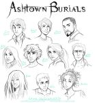 Ashtown Burials Characters by lostie815