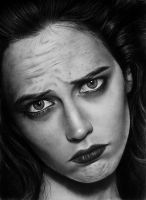 Eva Green by Valontine