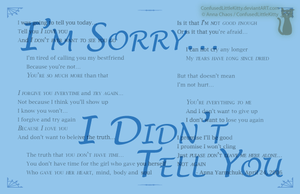 Digital Typography I'm Sorry4 by ConfusedLittleKitty