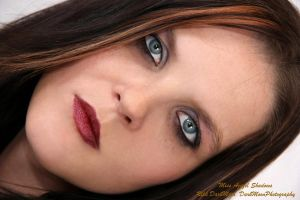 Blue Eyed Girl by Azazel-Shadows