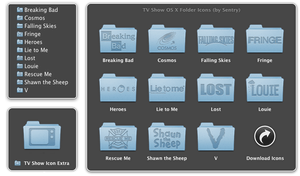 TV Show OS X Folder Icons by Sentry15