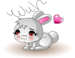 Cooot bunny by annorekto