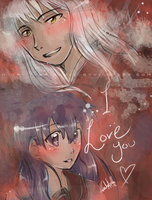 InuKag - Love U by nor-renee