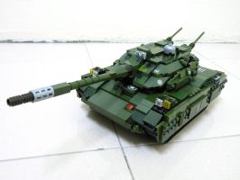 Lego Grizzly Tank (RA2) 1 by SOS101