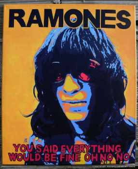 Rock and Roll Series: #01 RAMONES by FAB-dark