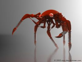 Insect Droid MKIV by davidbrinnen