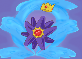 King Starmie by Marraphy