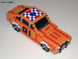 General Lee 3-D Bead Sprite by DrOctoroc