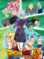 Gattai Zamasu Poster - Dragon Ball Super by SparkingMtr