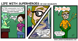 Life with Superheroes #23 by ZacAvalanche