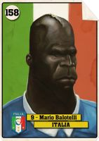 Mario Balotelli by Parpa