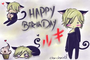 Happy Birthday Ruki by kiroxe