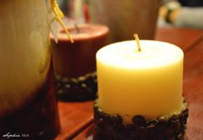 Candle lit by clongetch