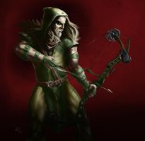 The Green Arrow by adammiconi